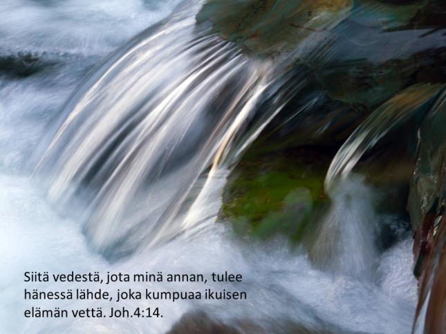 Elävät vedet virtaavat vielä